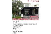 DIJUAL RUMAH ROYAL RESIDENCE SBY BARAT
