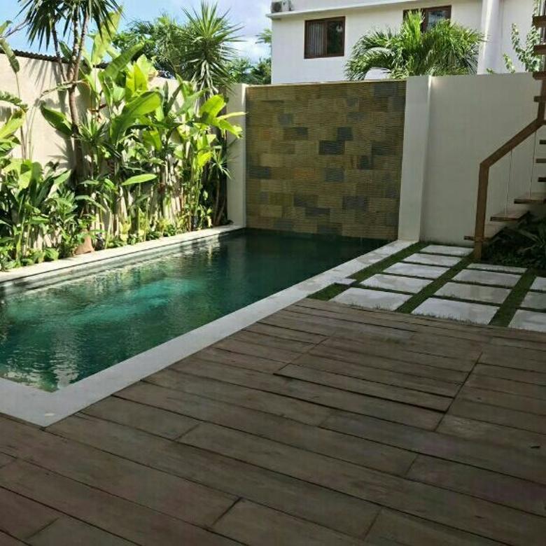 New luxury villa di jln Pantai Pererenan, Canggu, view Sawah, kuta Utara
