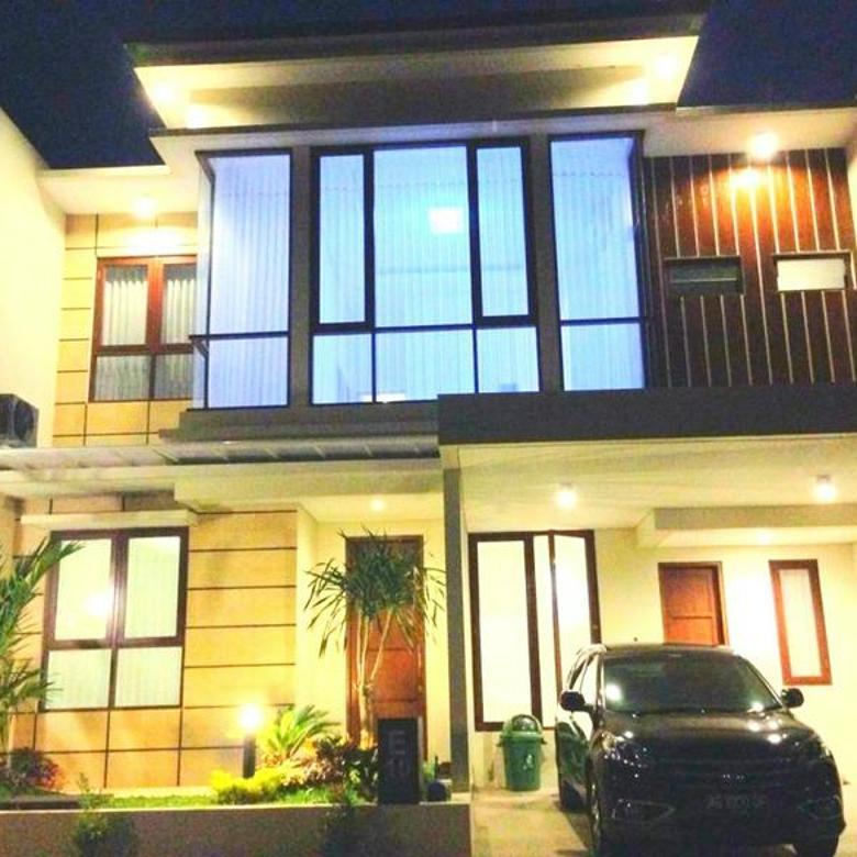 Rumah Full Furnish 3 Kamar dekat kidsfun dan bandara bulanan