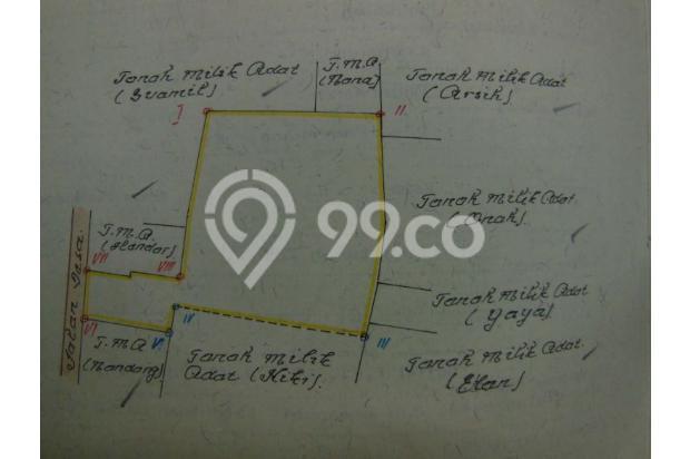 Tanah di Lembang dijual segera 16248741