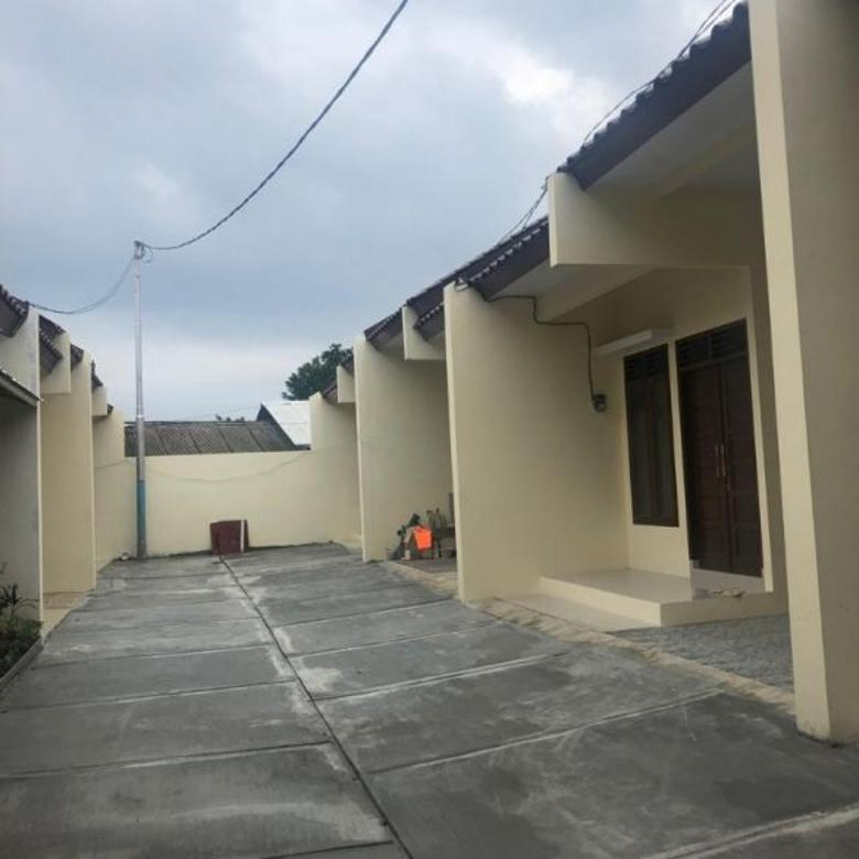 Rumah cluter 12 unit dekat ke toll bambu apus setu Jakarta