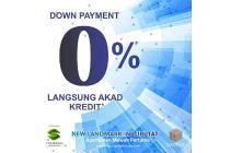 Apartemen DP 0% langsung akad kredit | 0