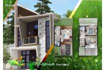 7 unit rumah baru di gegerkalong dekat polban lingkungan eksklusif