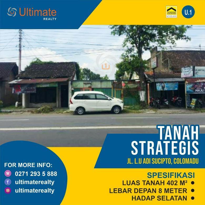 Tanah Strategis di Adi Sucipto Colomadu Surakarta