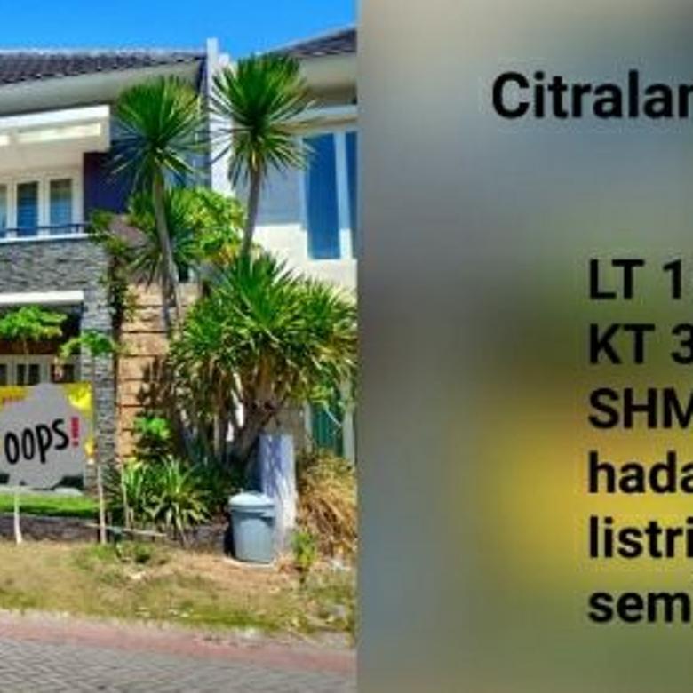 Rumah Bagus Royal Park 2 Citraland Surabaya Siap Huni