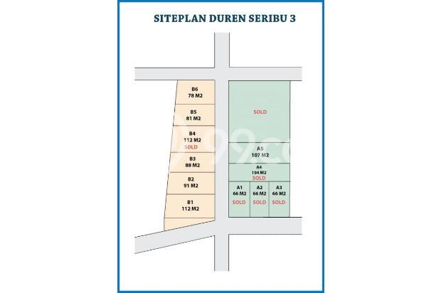 Jual Rumah Harga HPP, DISKON 100 Jt di Duren Seribu 17697980