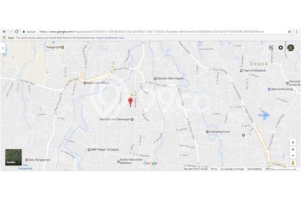 Tanah Kapling Siap Bangun 90 Meter Dekat Sawangan Permai 12898581