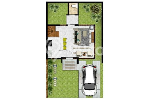 Rumah Konsep Urban Farming di The Green Setiabudhi 15053685