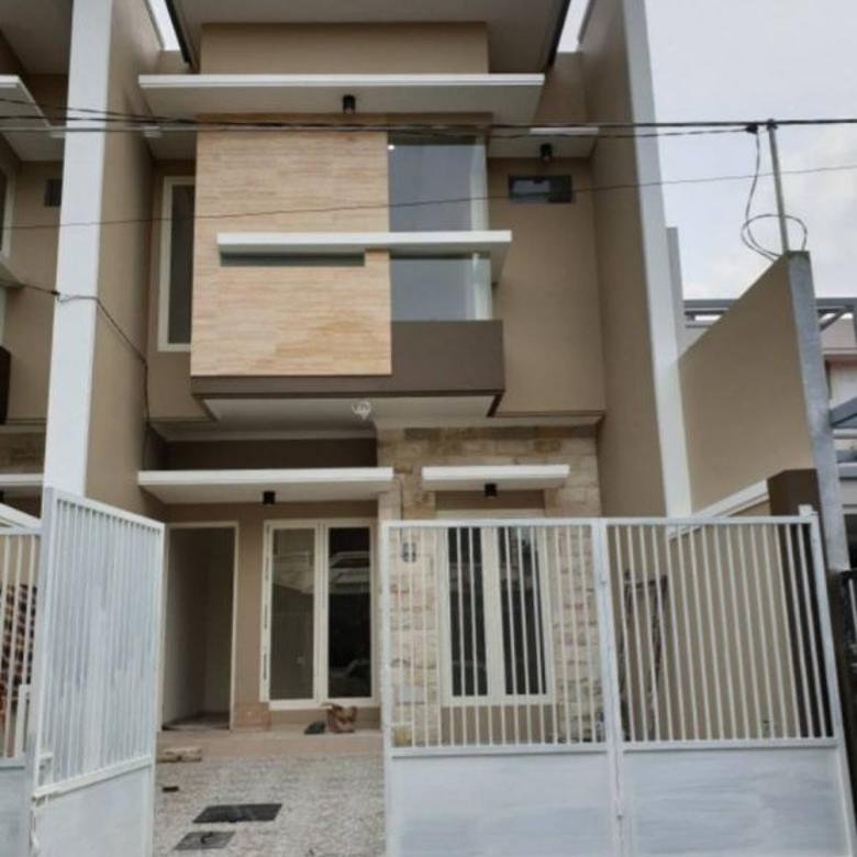 Rumah gress minimalis 2 lantai (ada 2 unit) di Manyar Tirtoasri, Surabaya