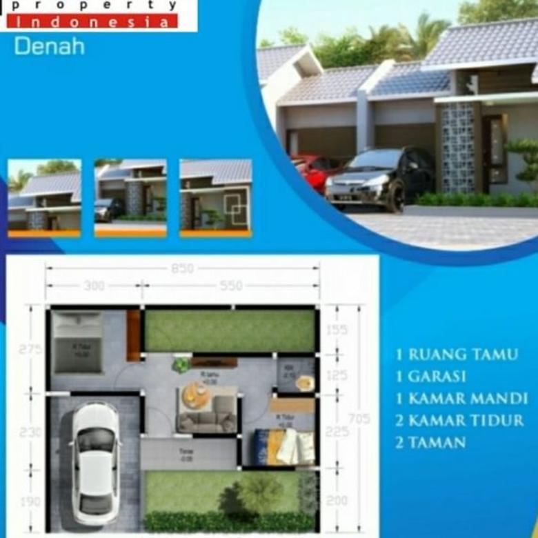 Rumah Baru Dekat Fasilitas Umum di Gentan Sukoharjo (TS)