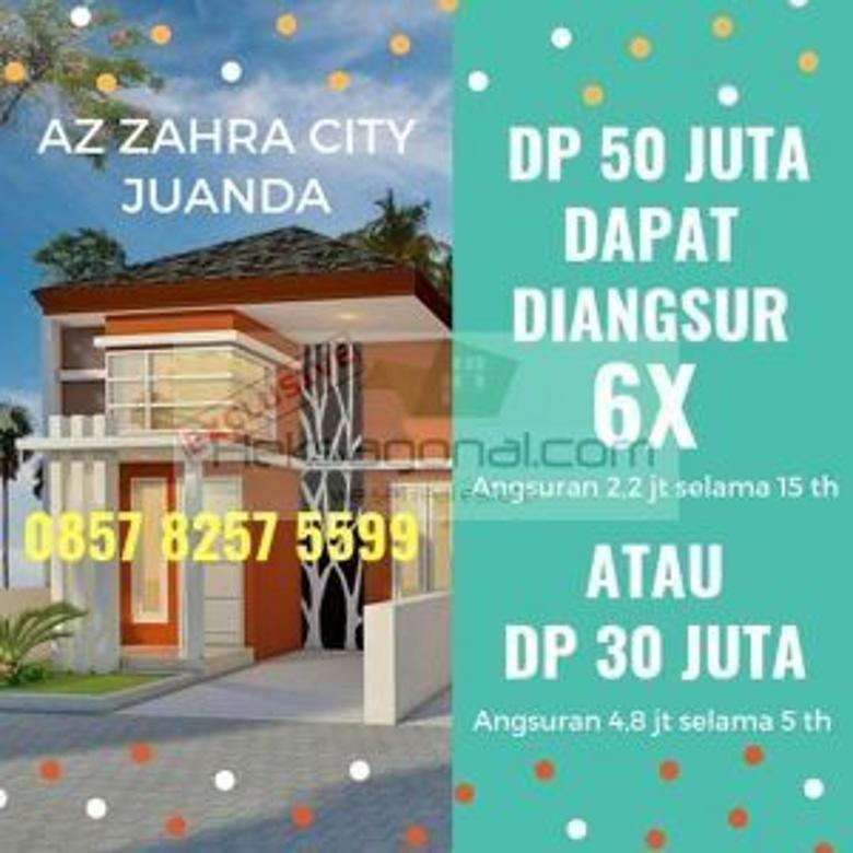 Rumah dijual AZ ZAHRA CITY JUANDA Sidoarjo hks10477
