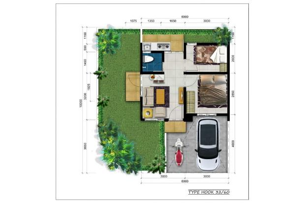 rumah dijual harga 449juta di karawang 15893441