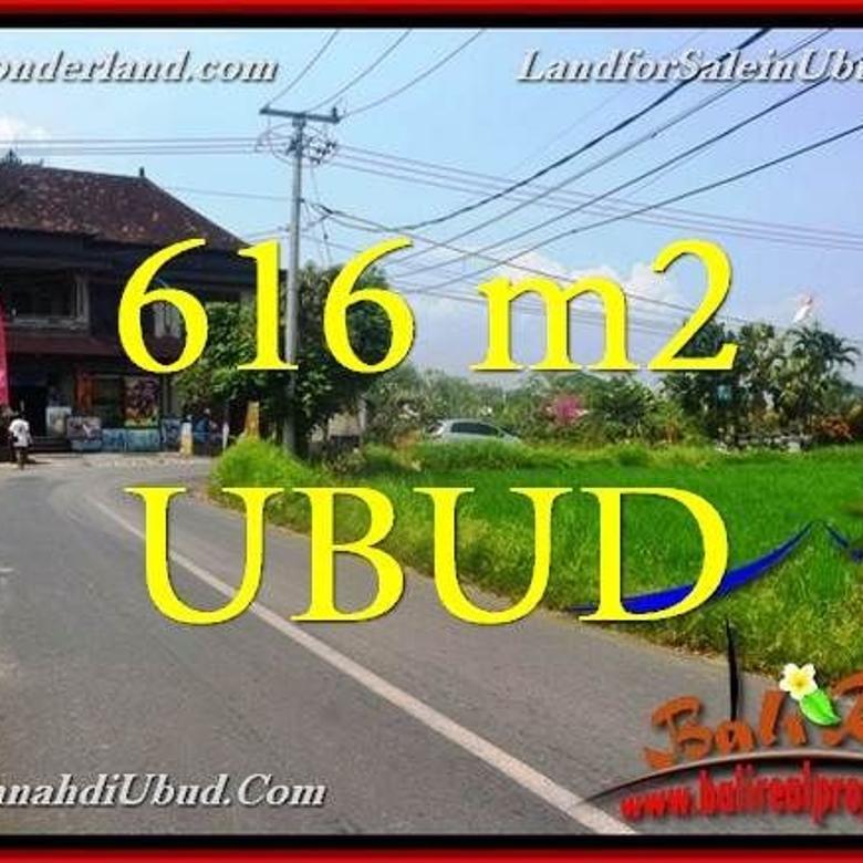 616 m2 View Sawah 3,5 jt/m di Sentral Ubud LUBD650