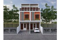 Dijual Rumah Baru uk 4x16m Bebas Banjir di Duri Kepa