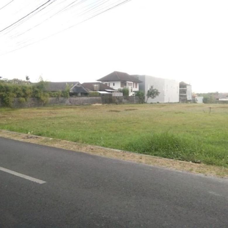 Tanah Di Jln Utama Tegal Cupek Kerobokan Dekat Ke Kuta, Canggu