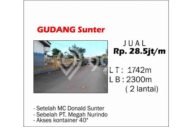 Gudang Daerah Sunter, Lokasi Bagus Dan Akses Mudah Kemana-mana 17794517