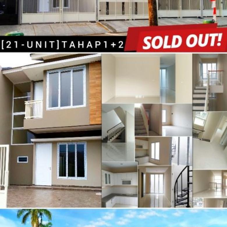 Dijual Villa Melati Mas Boulevard BSD City Serpong Rumah Baru