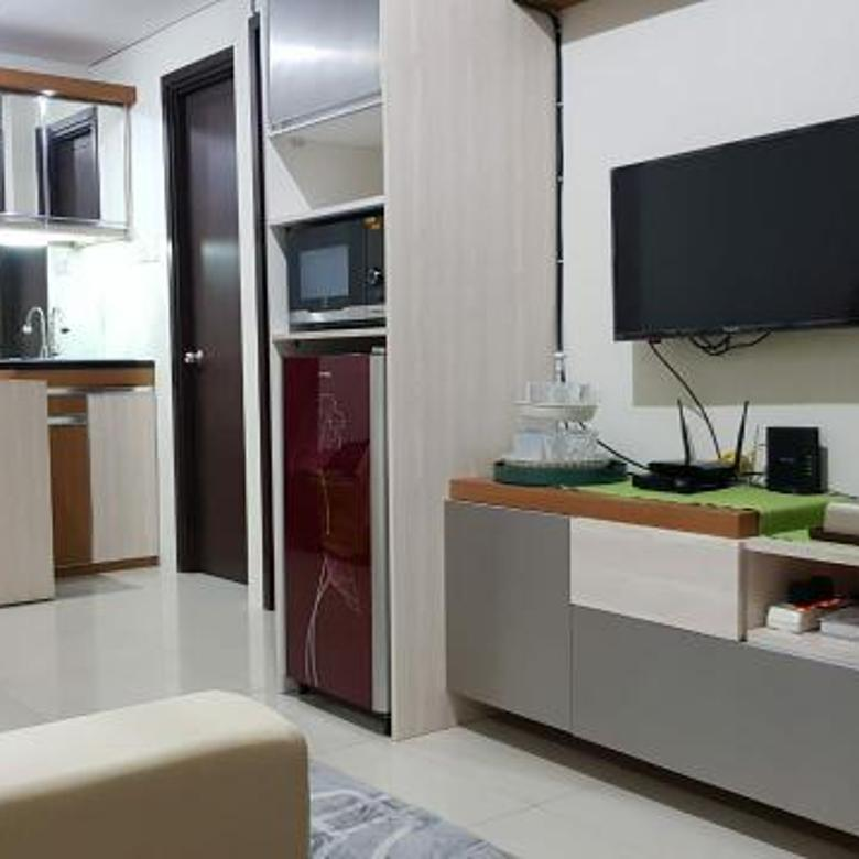 Apartemen fully furnished view pool  cepat