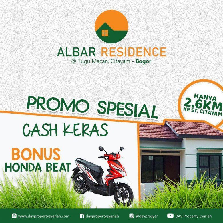 Rumah Syariah di Bogor , 2 Km Stasiun Citayam