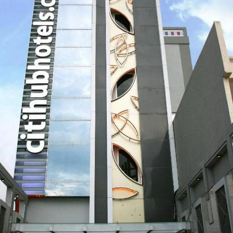Hotel Citihub, Jl Arjuna Surabaya  LT 550 m2   LB 1600 m2 (4 lantai, Konstruksi Baja)  SHGB 48 kamar