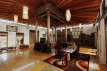 rumah joglo antik mewah, asri, nyaman