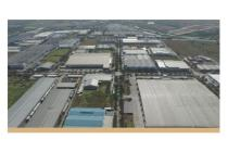 Tanah siap bangun di Delta Silicon II, Jl. Pinang, Lippo Cikarang, Bekasi,