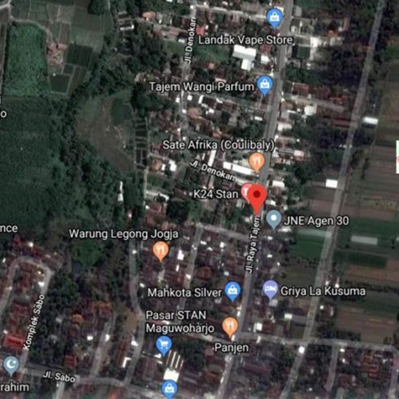 Tanah Dijual Jalan Raya Tajem Maguwoharjo Yogyakarta hks6069