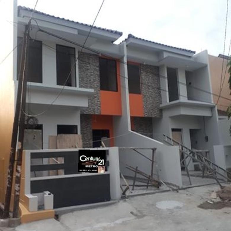 Rumah Minimalis 2lt Bangunan Baru Boulevard Hijau Harapan Indah Bekasi