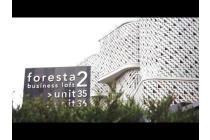 Disewa Ruko Foresta Business Loft 2 BSD City , Tangerang