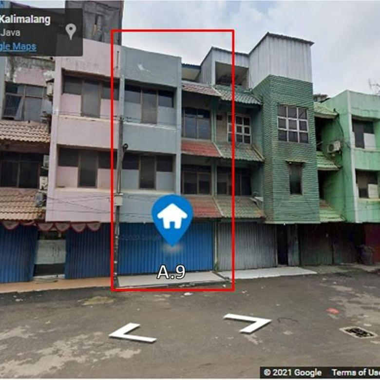 Ruko 4 Lantai Dekat Pintu Toll Becak Kayu, Jalan Raya Kalimalang Blok A.9