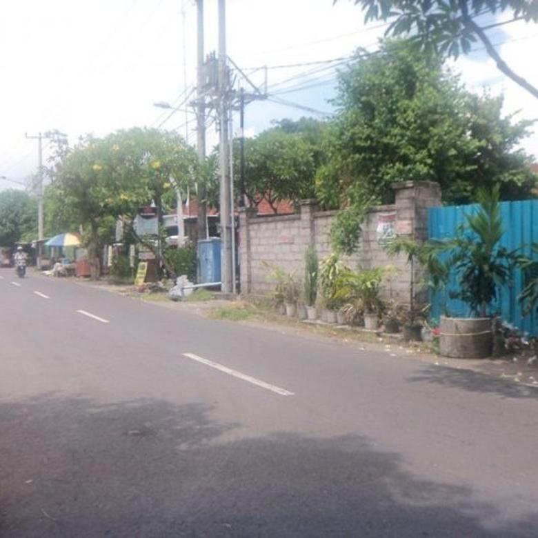 Dijual Tanah 2,7 are di jl.Soka Denpasar dkt Gatsu,Batu bulan,Sanur