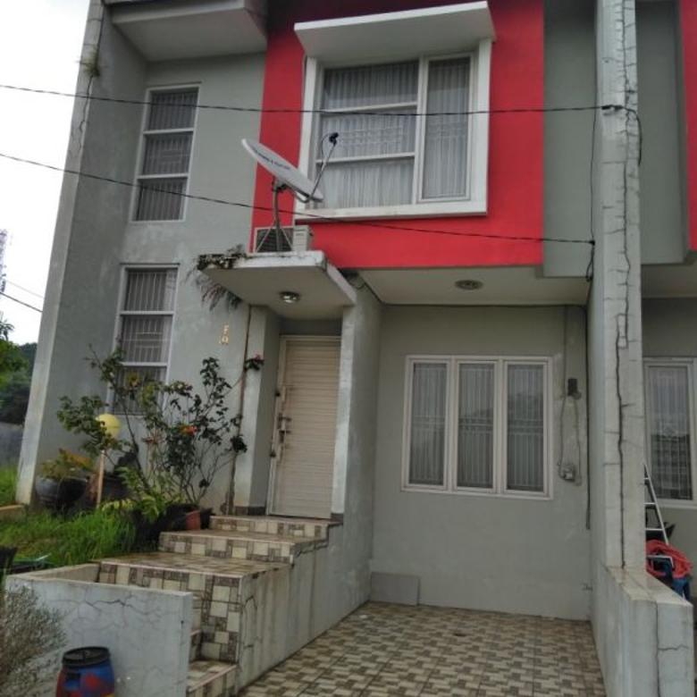rumah 2 lantai siap huni tanpa dp free all in harga terjangkau