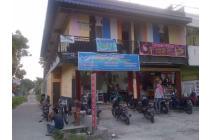 Bangunan 2 lt Kost 17 kamar lokasi dekat kampus uir