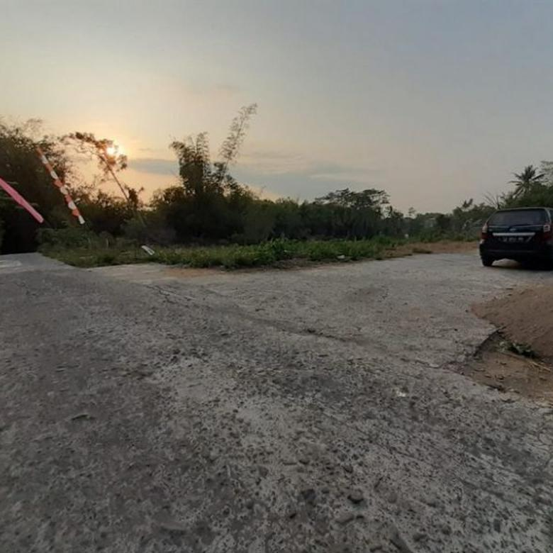 Tanah Dijual Jl Magelang Komplek Pemda,Jalan ROW 5 m,