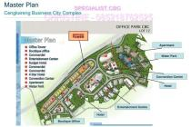 DISEWAKAN Boutique Office Building di Cengkareng Business City (CBC) Lb:+-7