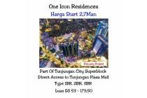 apartemen one icon residence tp tunjungan plaza surabaya mewah