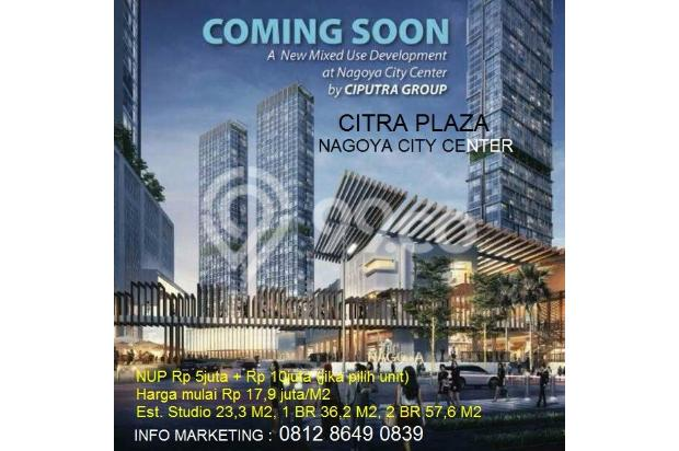 Dijual unit apartemen studio Citra Plaza Nagoya Batam 15037319