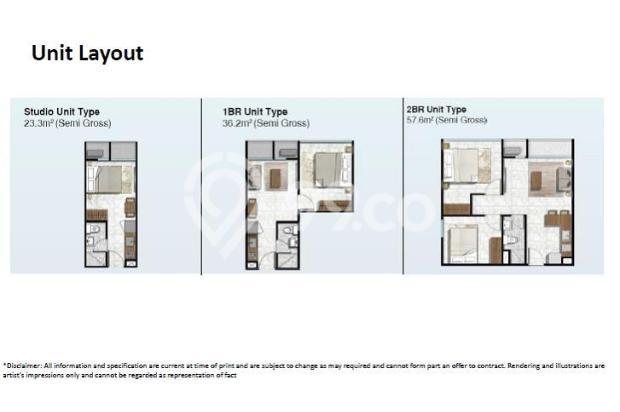 Dijual unit apartemen studio Citra Plaza Nagoya Batam 15037410