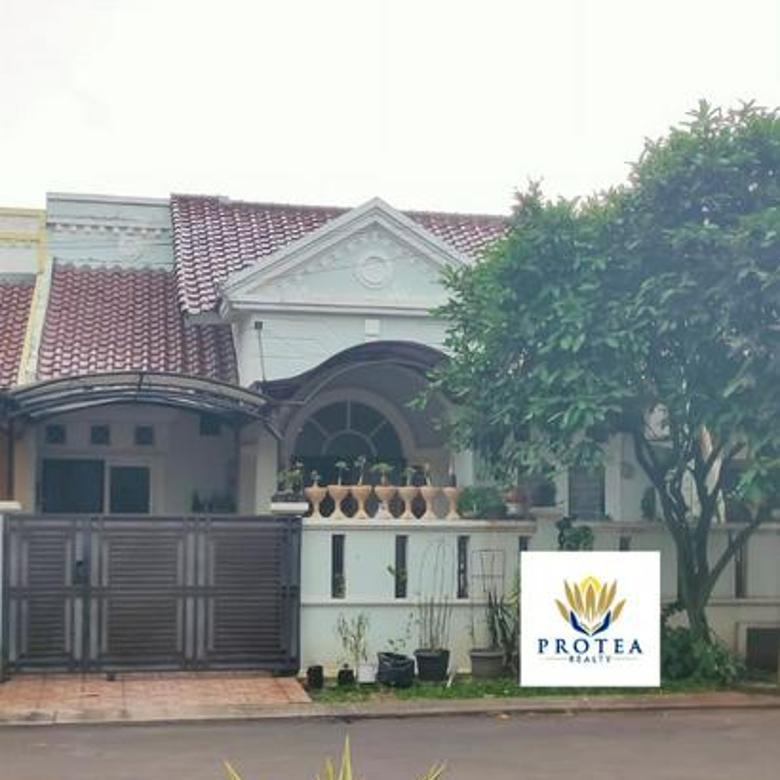 Rumah 1 lantai di Melati mas Vista (2004)