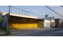 Jual murah gudang, tanah, dengan luas 1809 m2