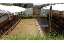 Jual tanah 210m ada kolam pancing di ciaous banjaran dekat alun2