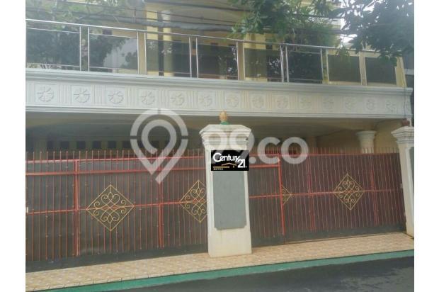 Rumah 3 lantai di pemda dki pondok kelapa jakarta timur dijual cepat 16049185