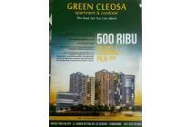 Apartemen Semi Furnished Booking 500 Ribu Strategis di Barat Jakarta