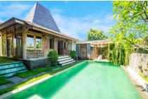 Dijual Villa Joglo Full Furnished di Semat Berawa, Badung