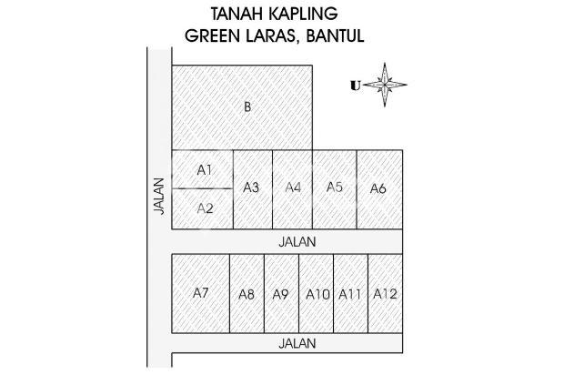 Tanah Bertahap 12 X, Hanya di Green Laras Pendowo, Bantul 17266943