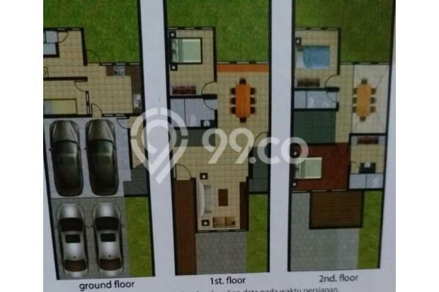 Rumah 3 lantai jagakarsa 13698565