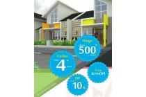 Harga terjangkau , dekat apartemen Cibubur & pasar Cisalak