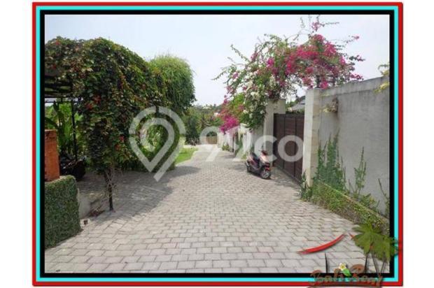 Tanah Strategis, 1.000 m2 View Sawah dan sungai , link villa di Canggu  3873356