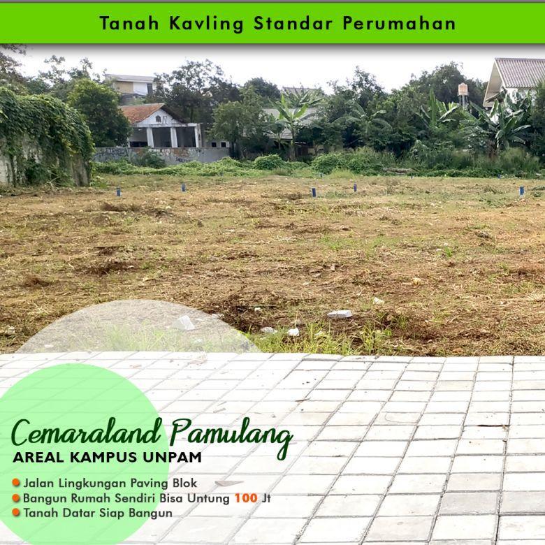 Tanah Untuk Investasi Lingkungan Perumahan Dekat Unpam