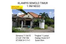 Rumah Klampis Semolo Timur WISMA MUKTI Surabaya Timur Strategi